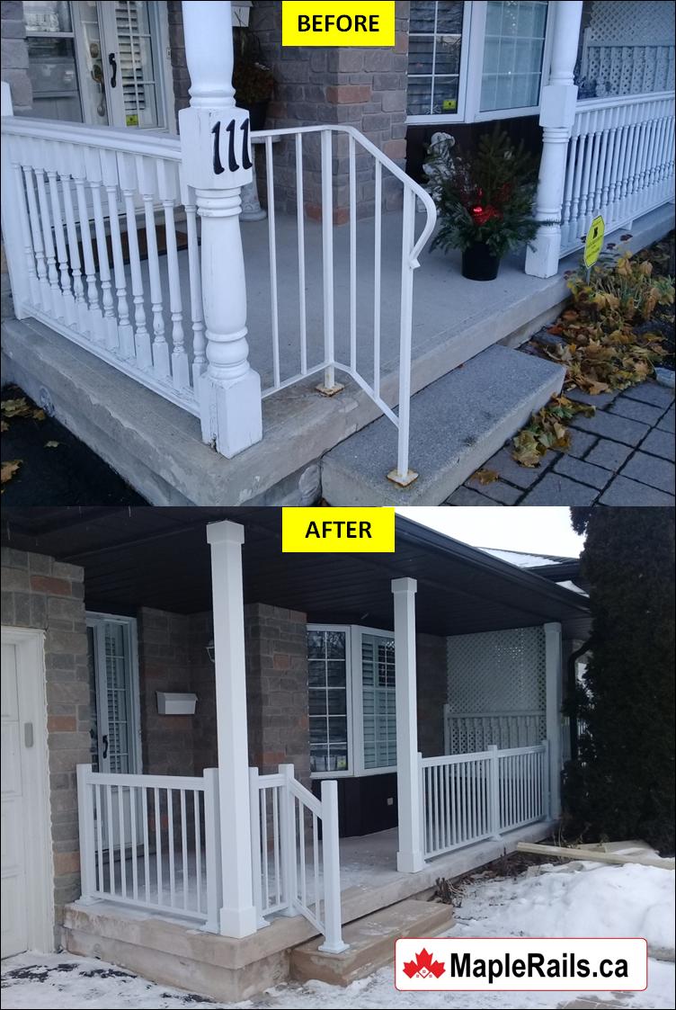 Concrete Porch Repair & Renovation (Kitchener, ON)