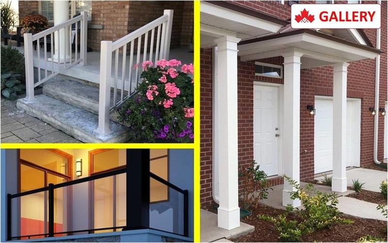 Aluminum Railings & PVC Columns Installation Contractor Kitchener, ON