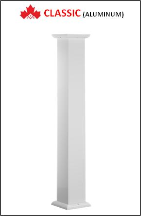 Maple CLASSIC Custom Aluminum Columns Installation Contractor Kitchener, ON