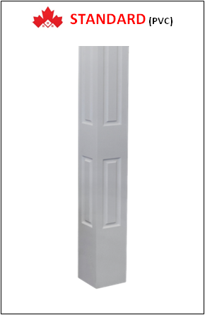 Maple STANDARD Custom PVC Columns Installation Contractor Kitchener, ON