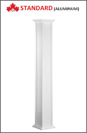 Maple STANDARD Custom Aluminum Columns Installation Contractor Kitchener, ON
