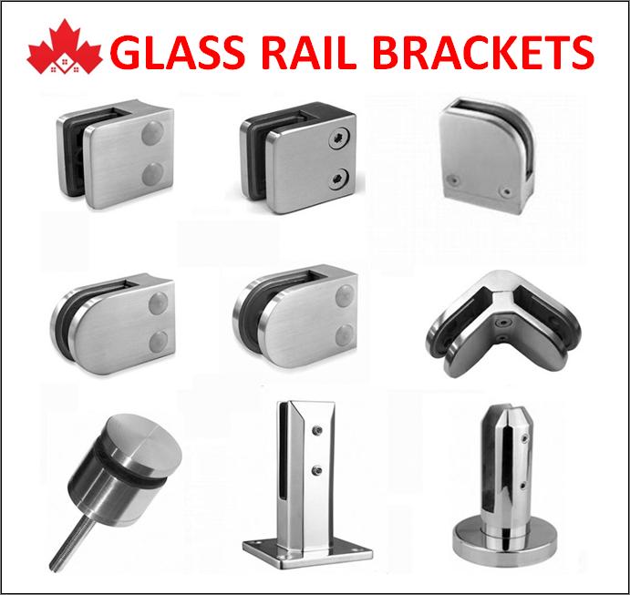 Glass Railing Installation Brackets