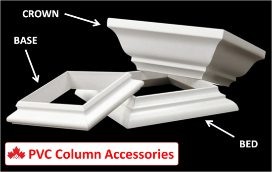 PVC Column Accessories