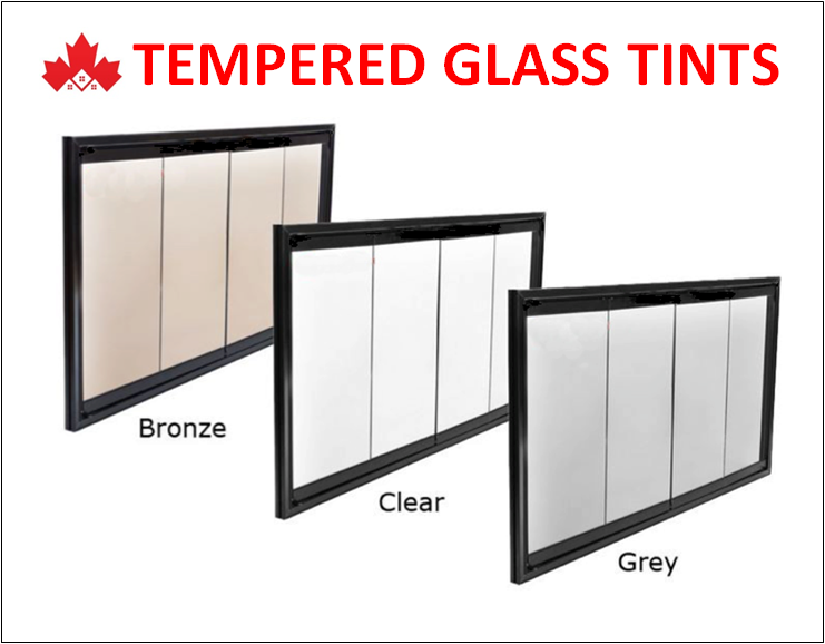 Glass Railing Tints - Bronze, Clear, Smoked Grey & Frosted