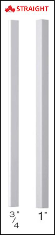 Straight Aluminum Railing Spindles